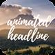 Animation Headline For Elementor Page Builder WordPress Plugin