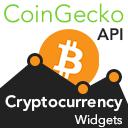 Cryptocurrency Widgets Using CoinGecko API