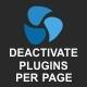 Deactivate Plugins Per Page – Improve WordPress Performance