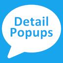 Detail Popups