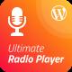 Ultimate Radio Player Wordpress Plugin