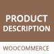 WooCommerce Product Description Plugin – Show On Shop Page