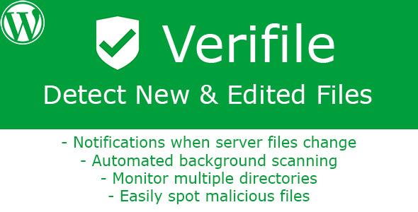 [WP] Verifile – Detect New & Edited Files Preview Wordpress Plugin - Rating, Reviews, Demo & Download